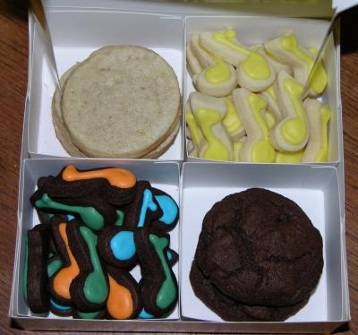Boxed cookies