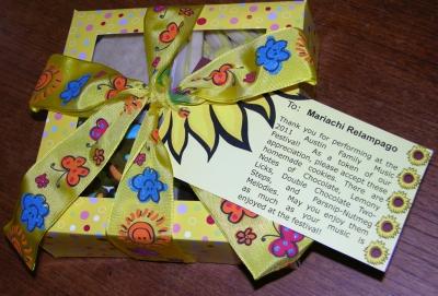 Pretty cookie box