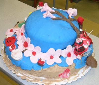 Cherry Blossom Cake 1