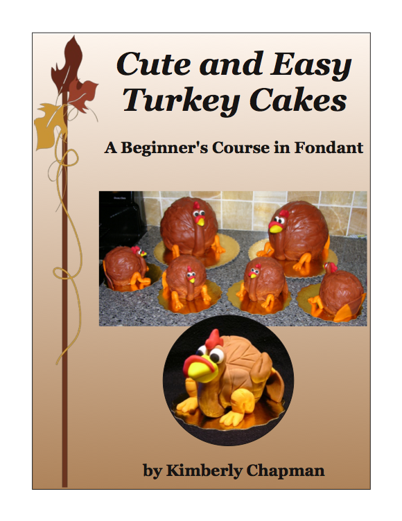 Cute and Easy Turkey Cakes - Cover