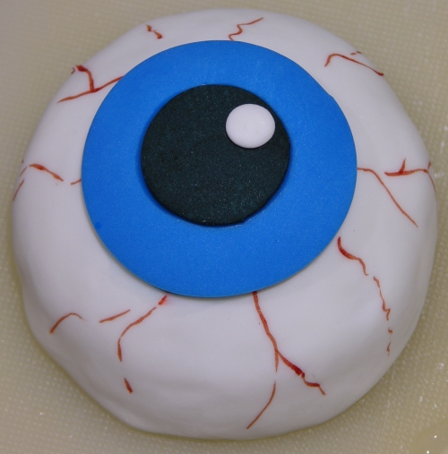 eyeball cookie