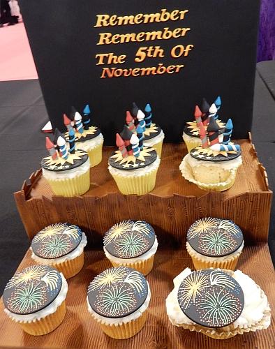 5th of November cupcakes
