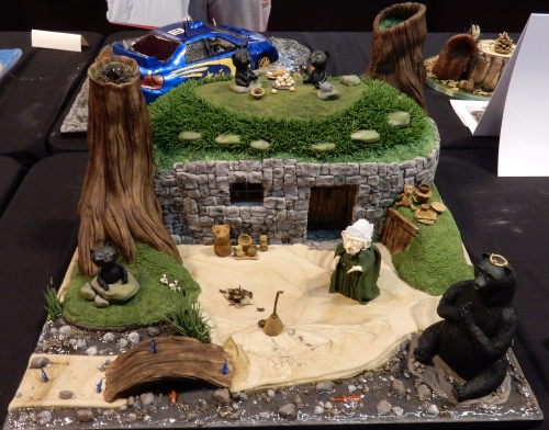 Brave witch's cottage