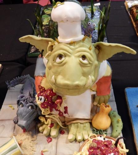 goblin baker cake