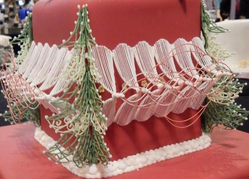Christmas stringwork