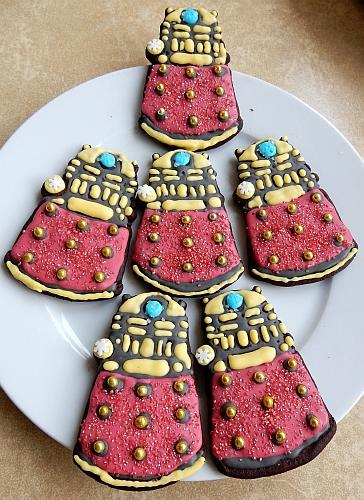 dalek cookies