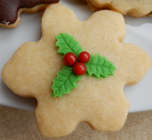 holly cookie