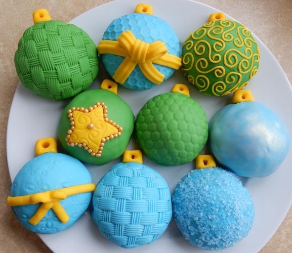 3D ornament cookies