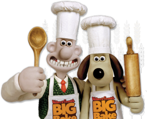 Wallace and Gromit's Big Bake logo