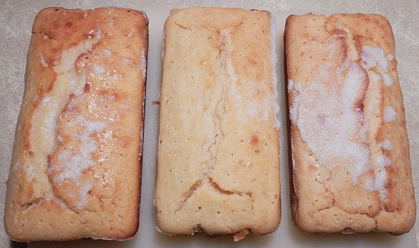 glazed lemon cakes
