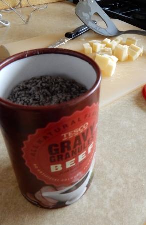 Tesco gravy granules