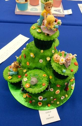 Jack and Jill cupcakes