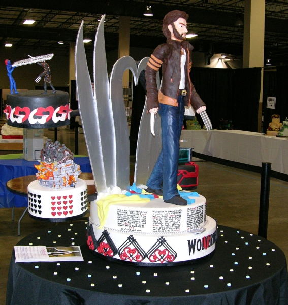 Wolverine Fan Girl Ultra Cake