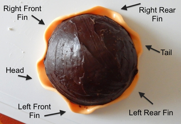 diagram of fixing the underbelly to the cookie