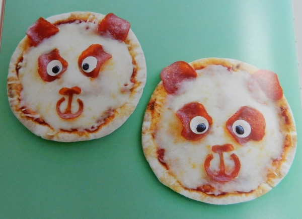 Panda Pita Pizza from Wild Eats