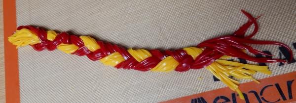 braided flexible chocolate