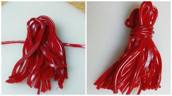 flexible chocolate tassels