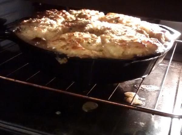 overflowing pan