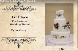 1st Place Professional Wedding Tiered Tyler Gary