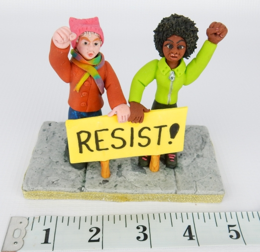 resist with measuring tape