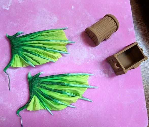 painting wings