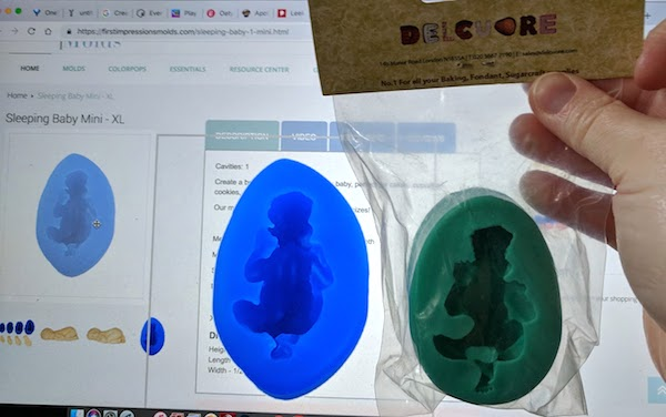 first impressions baby mould