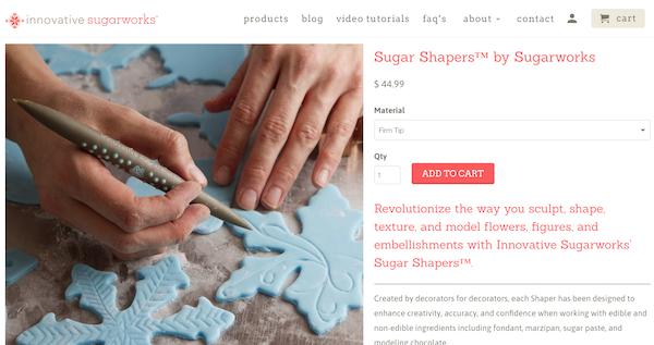 screencap from sugarworks.com