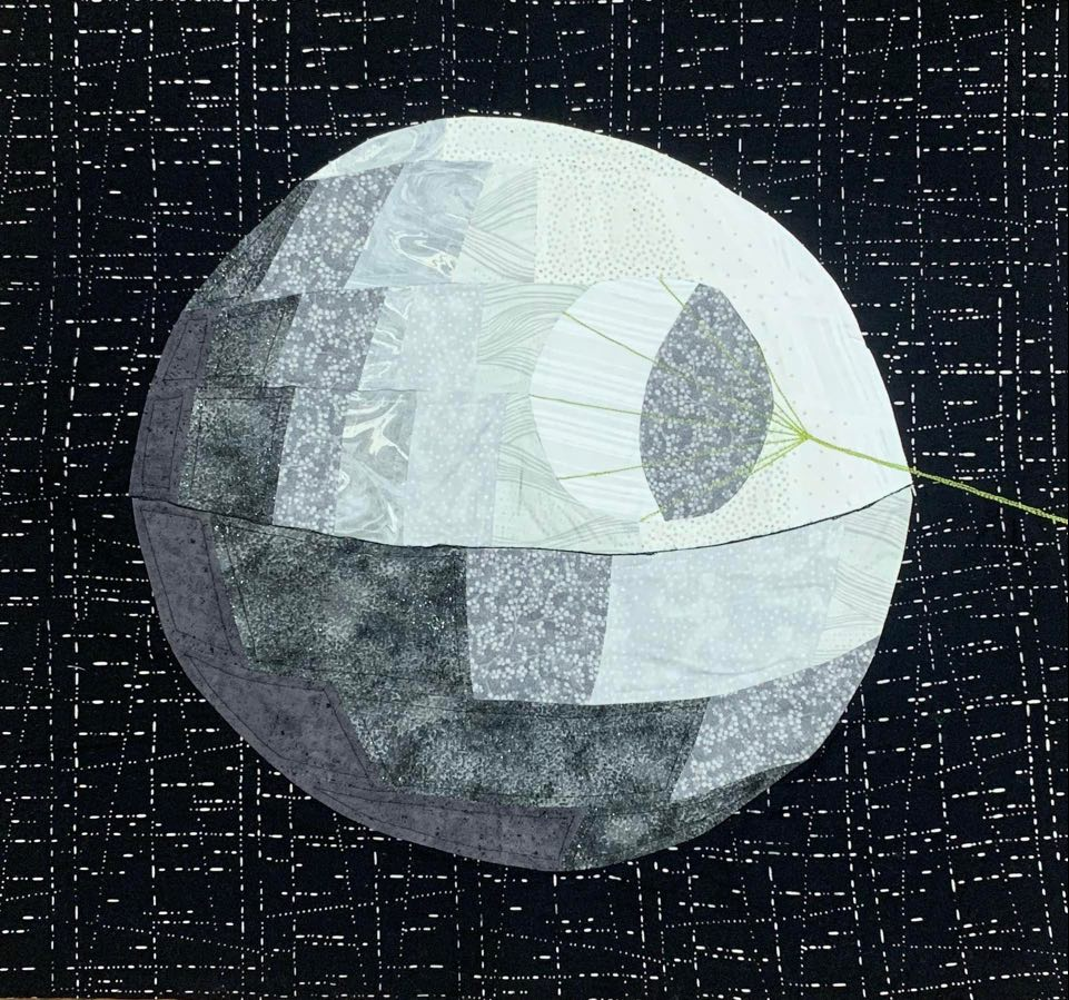 quilted Death Star