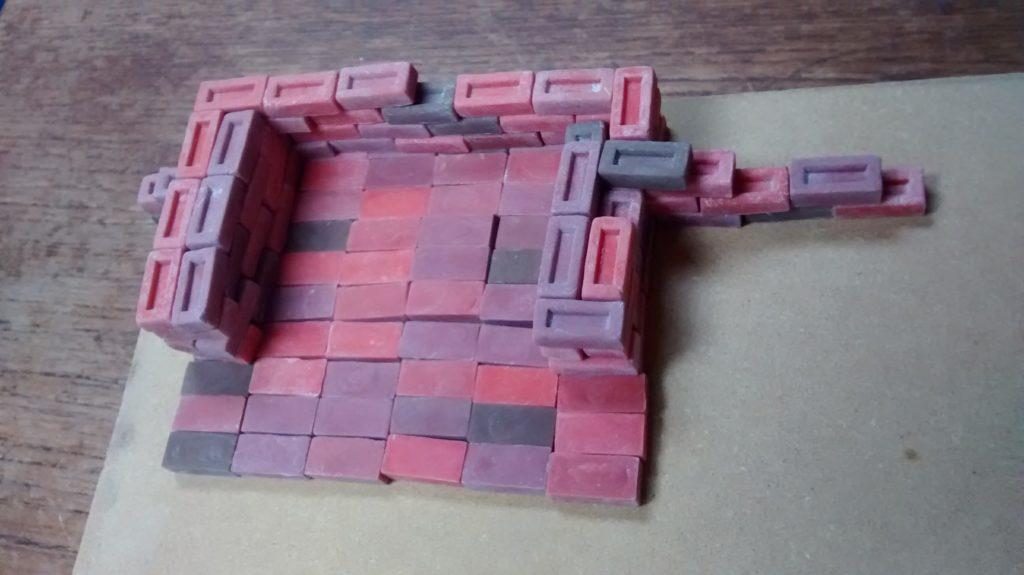 loose fireplace bricks