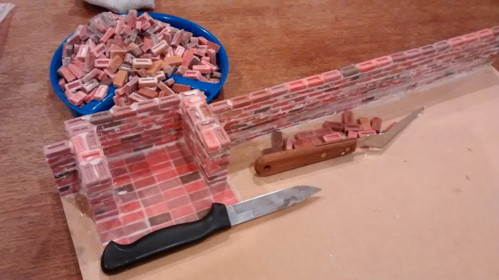 adding more bricks